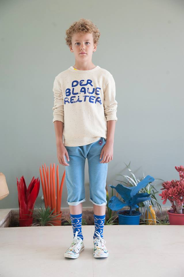 Bobo Choses Ss16 Der Blaue Reiter Les Enfants 224 Paris
