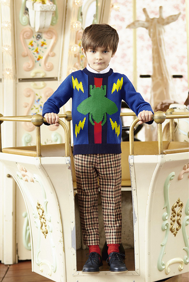 gucci kids clothes. all photos by lee clower for gucci kids aw16 clothes