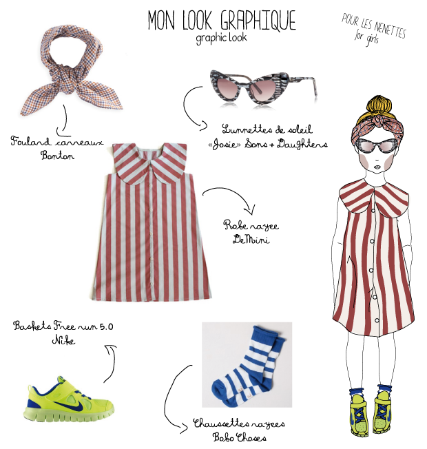 graphic look for girls