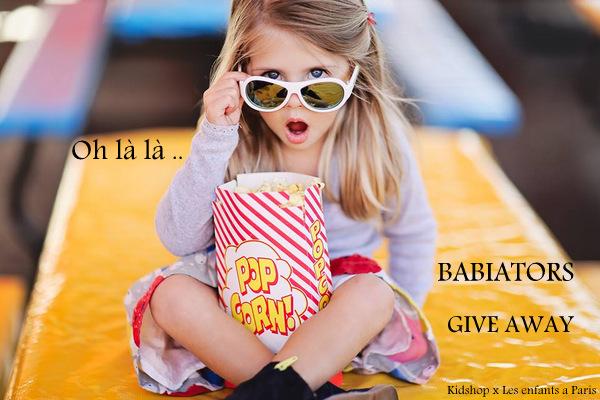 Babiators give away