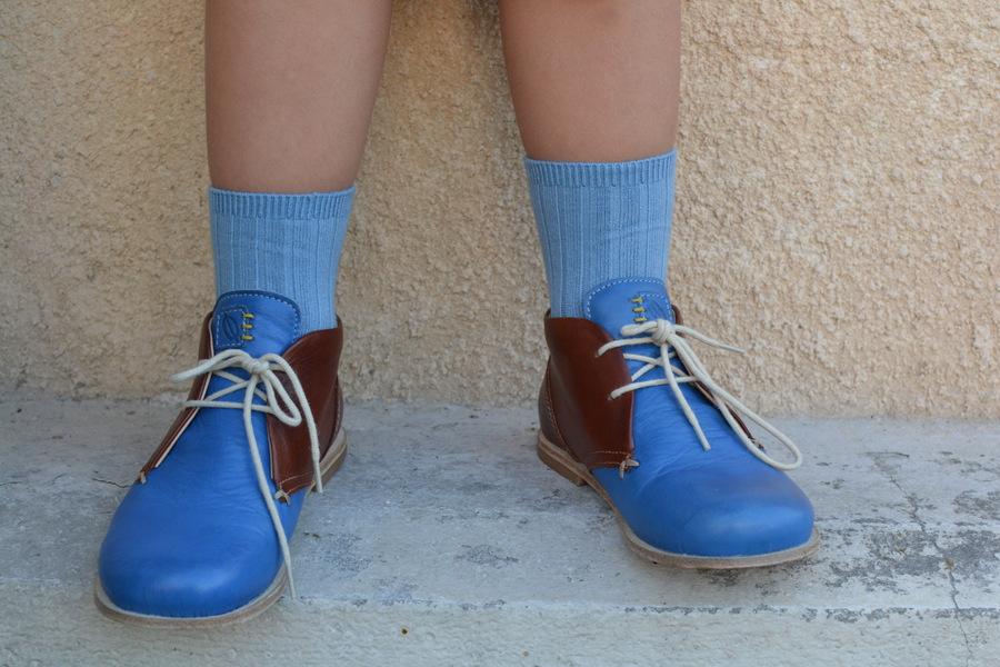 Ocra dessert boots