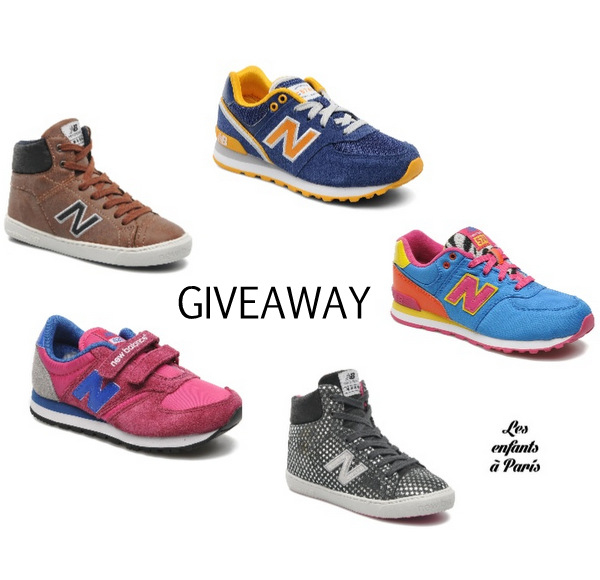another new balance giveaway