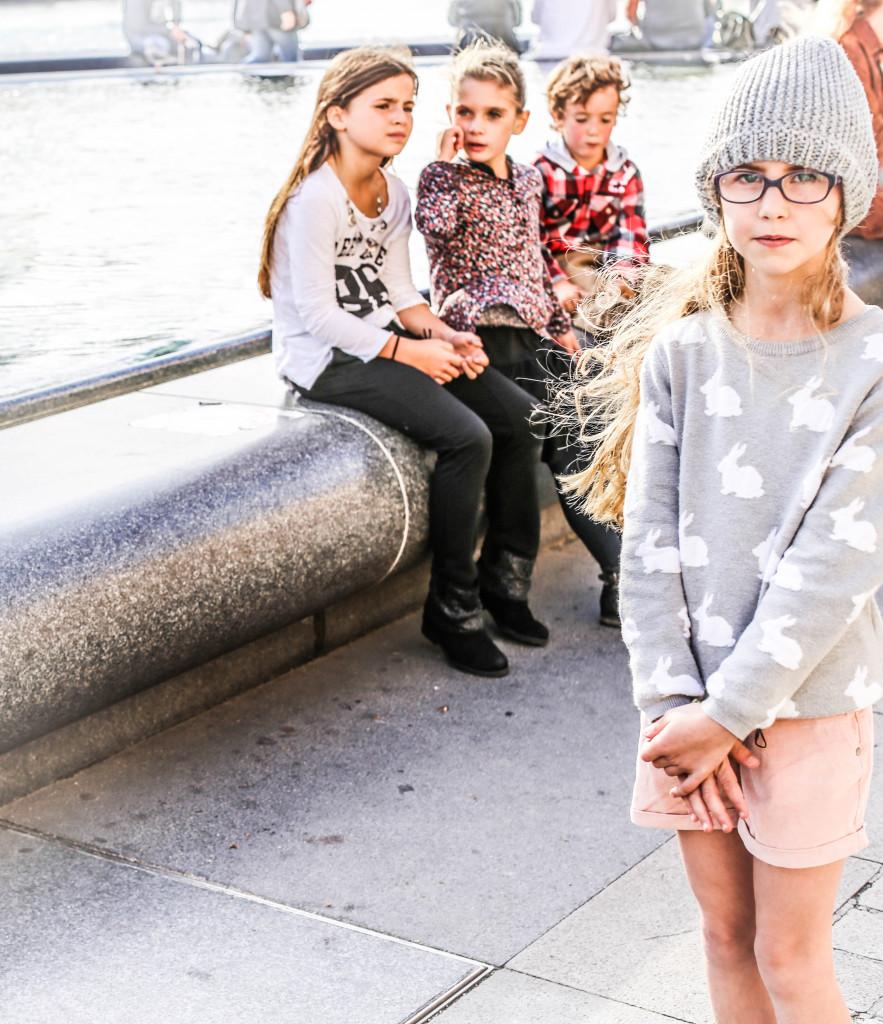 Bunny sweater Zara Kids Aw14