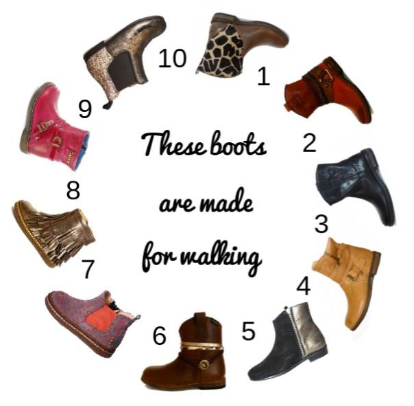 Les Casse Pieds boots selection