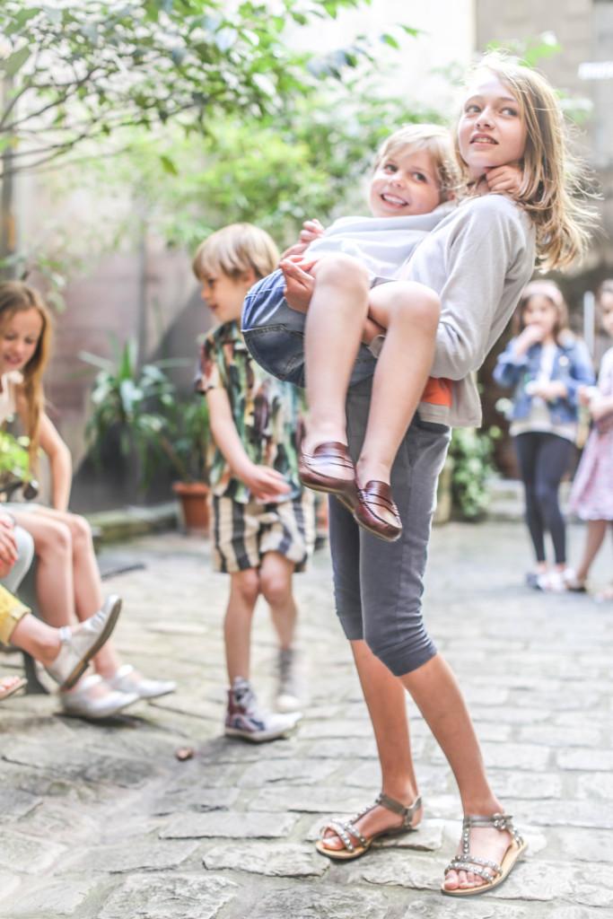 Les enfants a Paris