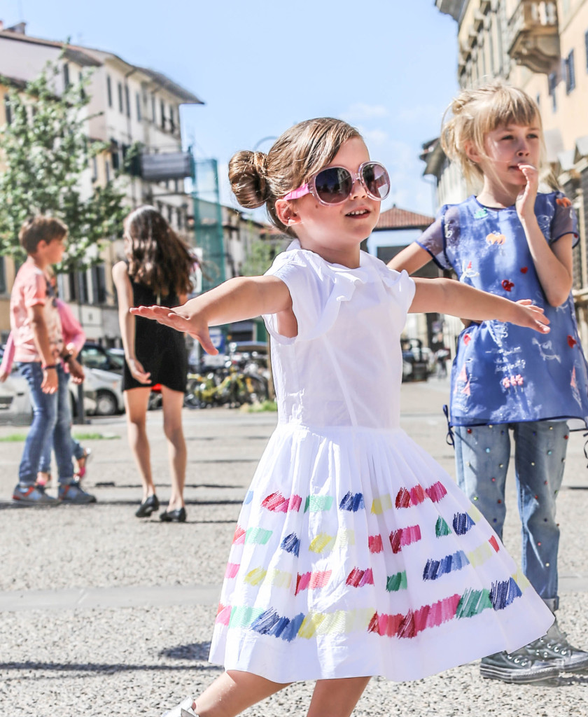 Les enfants a Paris in Florence