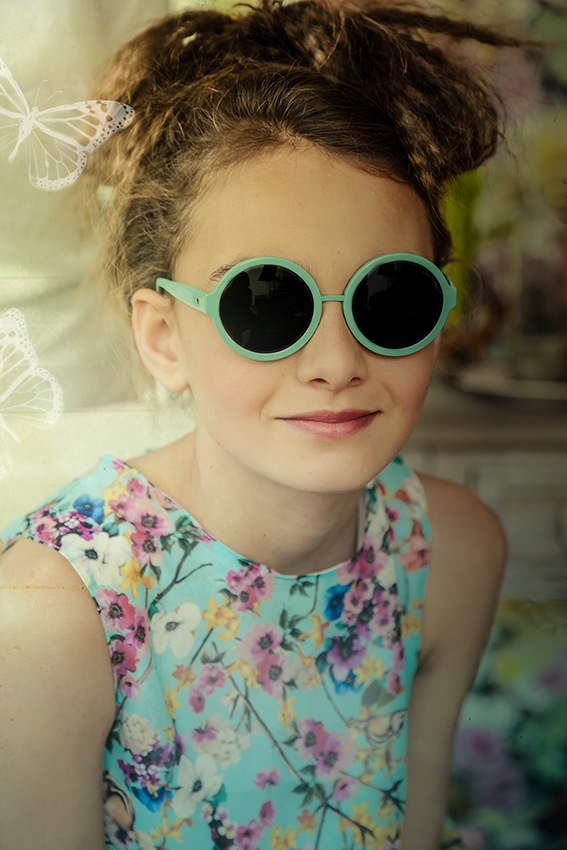 2d143104775c Lea P for the Zoobug SS16 sunglasses collection