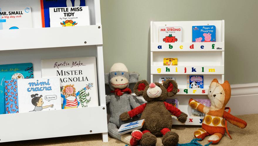 mini bookcase Tidy Books