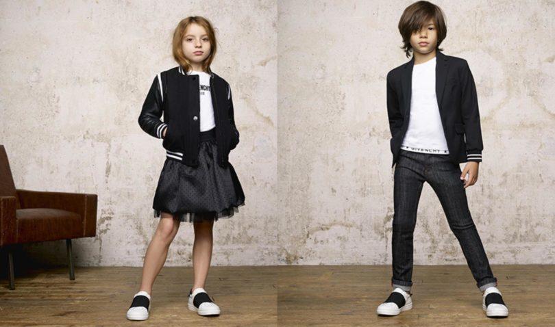 1bc9f65792c4 GIVENCHY KIDS AW18 - Les enfants à Paris